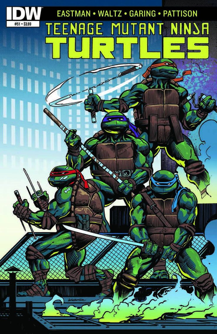 Retro review teenage mutant ninja turtles ii secret of the ooze - Tmnt Ongoing 2010 Issue 51