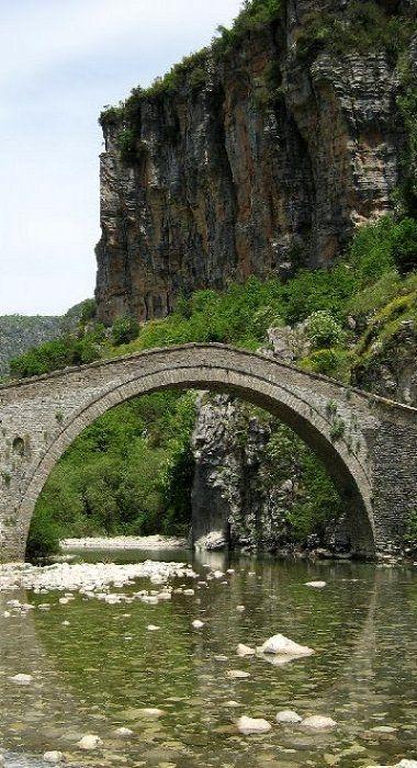 stone bridge.. Zagori, Epirus, Greece