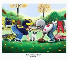 ohio state vs michigan cartoons - Google Search