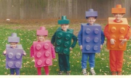 This is great!  Family Halloween Costumes - Lego