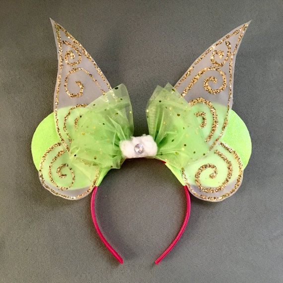 Tinkerbell / Pixie / Fairy Mouse Ears by MindOfMari on Etsy