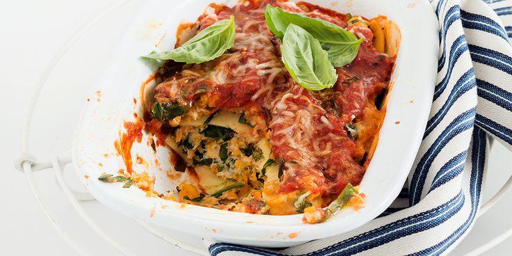 Free 12WBT Recipe: Spinach, Ricotta & Pumpkin Cannelloni