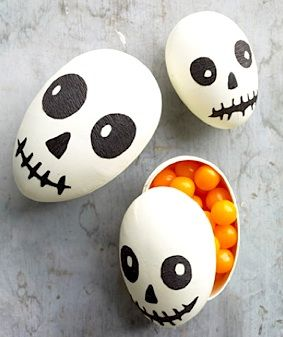 recycle the easter eggs hidden in the closet!