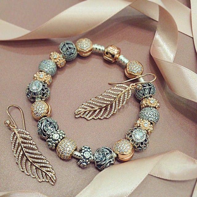 pandora armband met rose