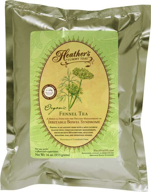 Fennel tea, supposed to give you a flat stomach