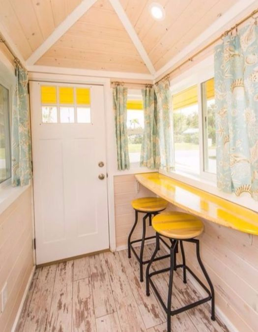 Tiny Beach House Living Step Inside This Tiny House In Florida Featured On Completely Coastal