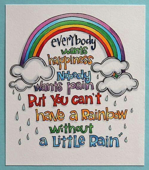 For all those rainbow babies out there.
