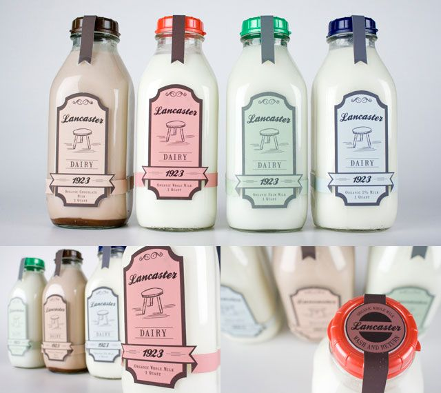 70 Creative Moolicious Milk Packaging