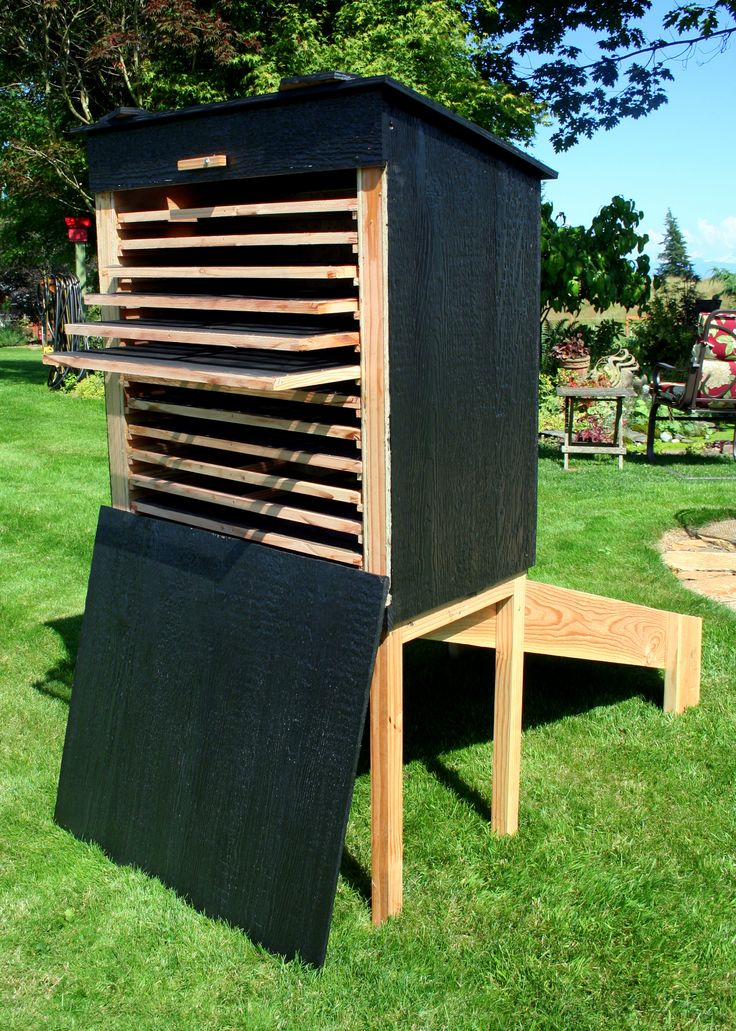 How you can make your own Homemade or DIY solar food dryer? Here're 8 free…