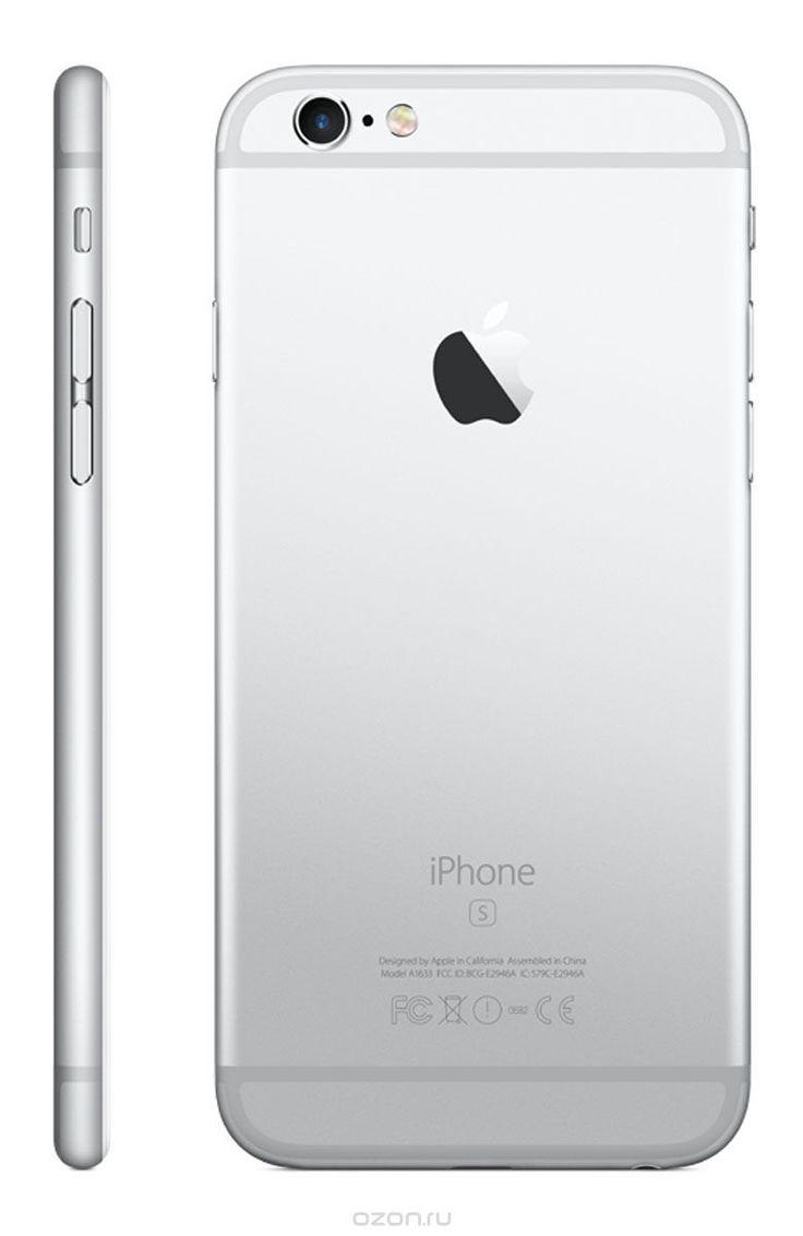 Apple iPhone 6s 16GB, Silver - купить в разделе электроника apple iphone 6s 16gb, silver по лучшей цене от интернет-магазина OZON.ru