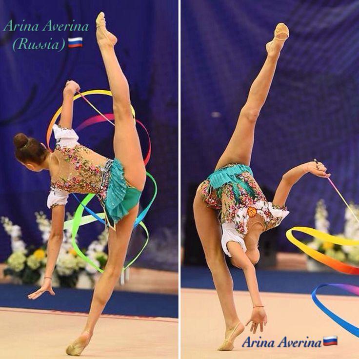 Arina AVERINA (Russia) ~ Ribbon @ Russian National Championship 2017 ❤️❤️ in Penza  Photographer Oleg Naumov.