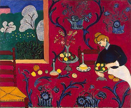 Matisse, La habitación roja (1908-1909)
