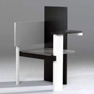 Gerrit Rietveld: Berlin Chair (1923)