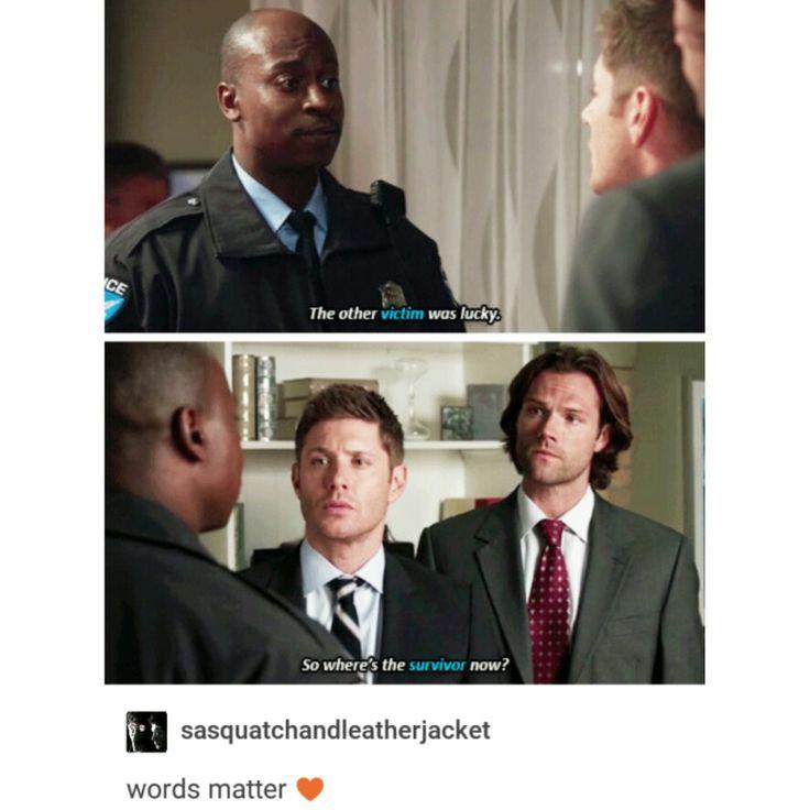 supernatural tumblr textpost dean winchester sam winchester