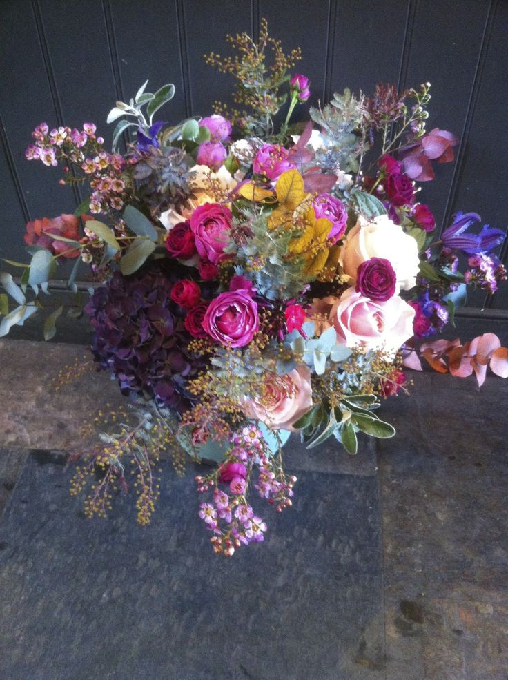 "Bright and colourful wedding flowers by The Urban Flower Company. For more Alternative Wedding inspiration, check out the No Ordinary Wedding article ""20 Quirky Alternatives to the Traditional Wedding""  http://www.noordinarywedding.com/inspiration/20-quirky-alternatives-traditional-wedding-part-2"