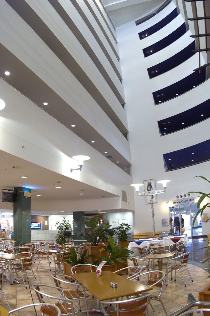 Darwin Central Hotel Atrium, NT Australia