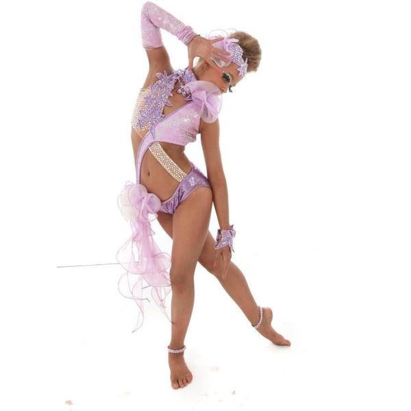 dance.net - u12 amazing pose freestyle costume bargain price (9806999)... ❤ liked on Polyvore