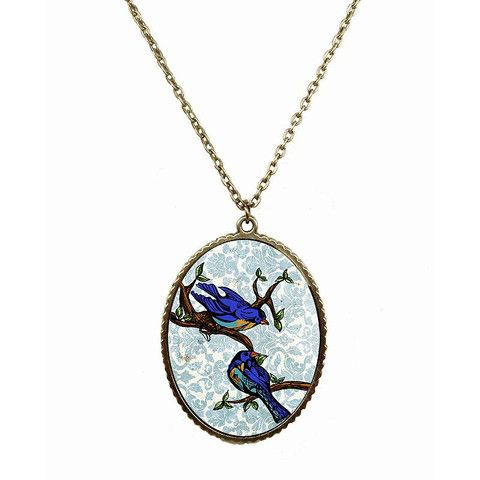 Sparrow Time Necklace – ASK ALICE by All Gifts Online