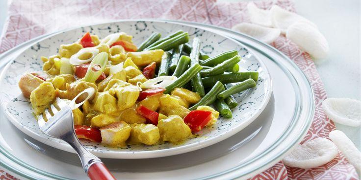 Recept - Kip Madras (Boodschappen, 2015 editie 1) Bekijk hier het recept: http://www.boodschappen.nl/recept/kip-madras/