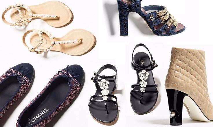 Scarpe Chanel Primavera Estate 2016: Foto, Prezzi - http://www.beautydea.it/scarpe-chanel-primavera-estate-2016-foto-prezzi/ - Sofisticate e dalle linee minimal, le scarpe Chanel primavera estate 2016 sono l'eleganza per eccellenza!