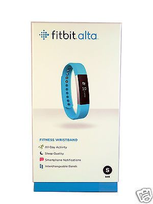 Activity Trackers 179798: New Fitbit Alta Smart Activity And Sleep Tracker Small Teal In Stock 2016 Model -> BUY IT NOW ONLY: $117.99 on eBay!