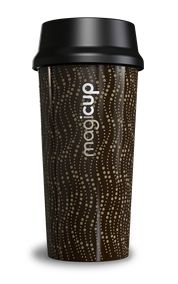 #Magicup Barista #Thermally Insulated #Travel #Mug 470ml 16oz Revolution Brown