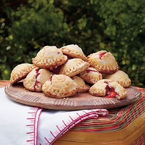 5 Portable Picnic Recipes | Strawberry-Rhubarb Hand Pies | SouthernLiving.com