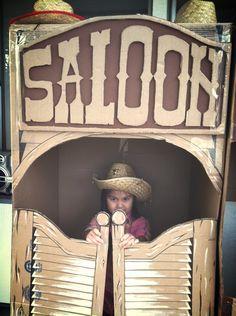 Western Party Scene Saloon