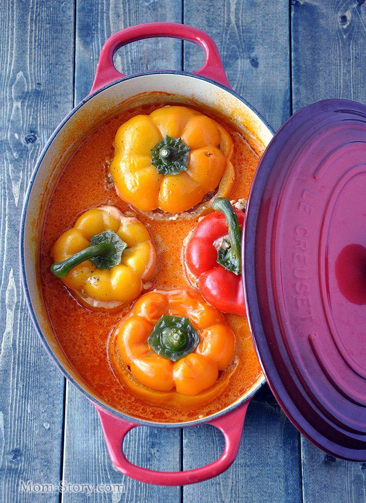 Фаршированный перец рецепт с пошаговыми фото