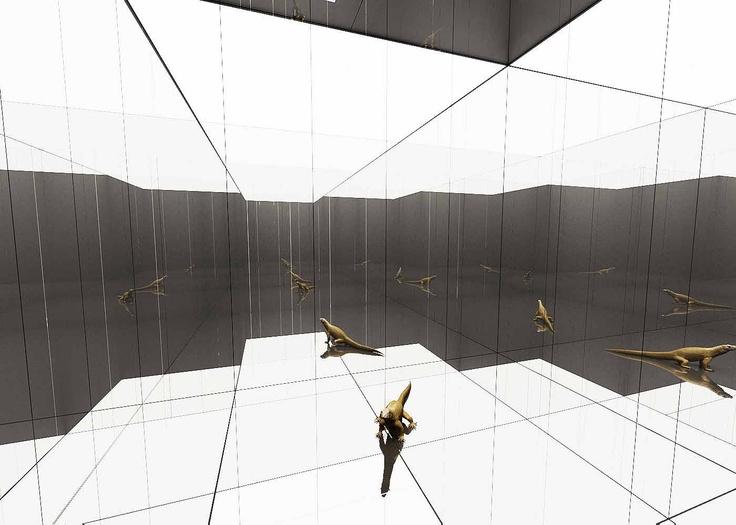THE CHAMLEON COLOUR CANVAS - Private Collection, Milan, 2010.  Demis Valle