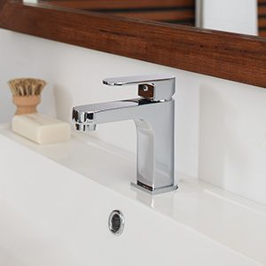 Tapware is the jewel of the bathroom so select jewels fit for royalty. The chrome Mizu Soothe range of mixers shine bright and features a paddle handle - very popular in the bathroom space for its easy usability and timeless good looks.