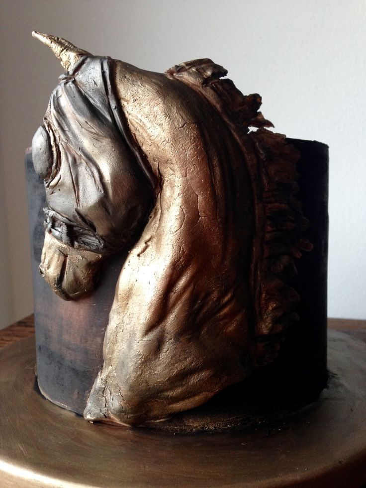 A special horse cake for a special person