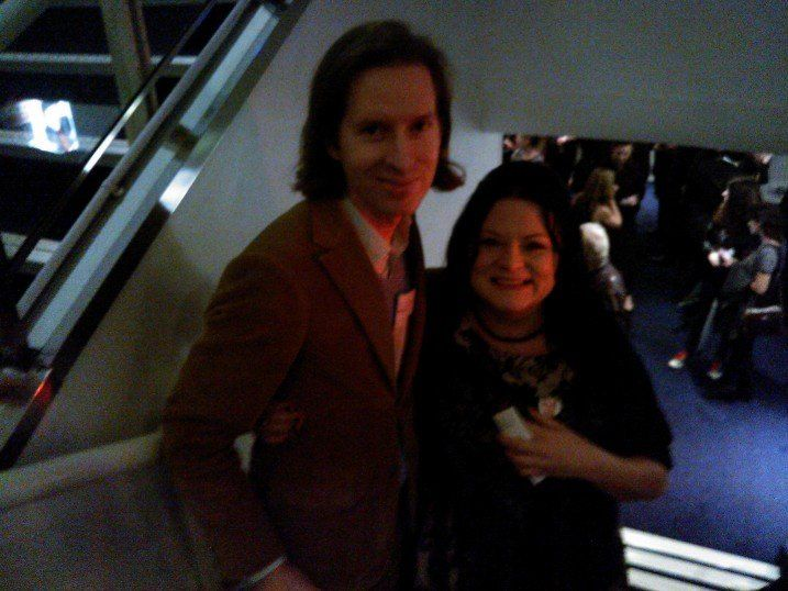 Wes Anderson, London Film Festival, October 2013.