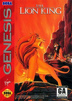 I remember playing this game so much when I was small. The levels were well done, had soundtracks from the movie, You grow from cub Simba to Adult Simba. This was definitely a favorite and also a really challenging game. Don't let the Disney logo fool you. It is very hard.