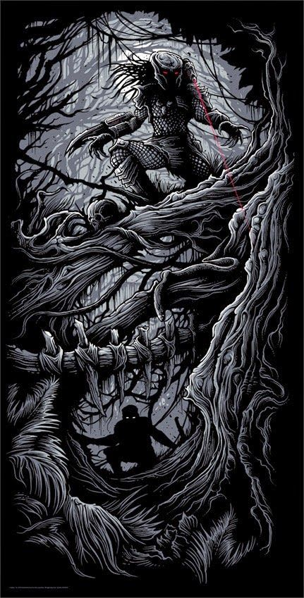 'Predator' by Dan Mumford