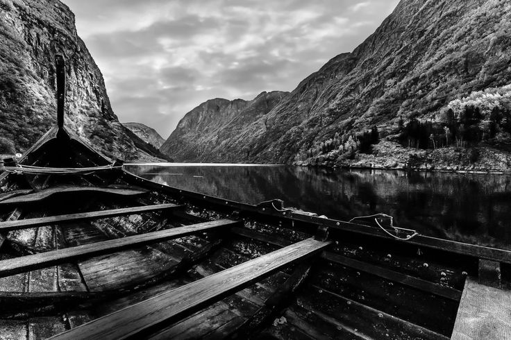 A Vikings View - In the bottom of Norwegian Nærøy-fjord , you'll find Gudvangen. A well known tourist site...but also the birthplace of vikings who want to conquer the world ;)
