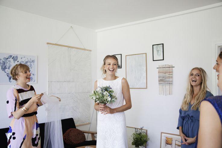 Silke Bonde wedding. www.silkebonde.dk