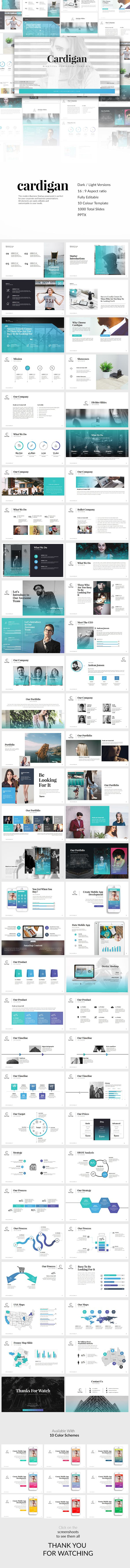 Cardigan PowerPoint Template — Powerpoint PPTX #showcase #infographic presentation • Download ➝ https://graphicriver.net/item/cardigan-powerpoint-template/19188812?ref=pxcr
