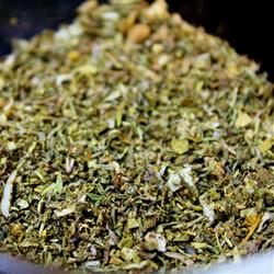 Homemade Greek Seasoning: 1.5Tsp Oregano, 1Tsp Mint, 1Tsp Thyme, 1/2Tsp Basil,  1/2Tsp Marjoram,  1/2Tsp Minced Onion,  1/4Tsp Minced Garlic. Mix all ingredients in small bowl. Transfer Seasoning Mix to Airtight container or Spice Jar.
