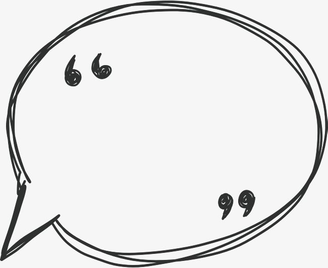 Line Speech Bubble Hand Lines Speech Bubble Speech Balloon