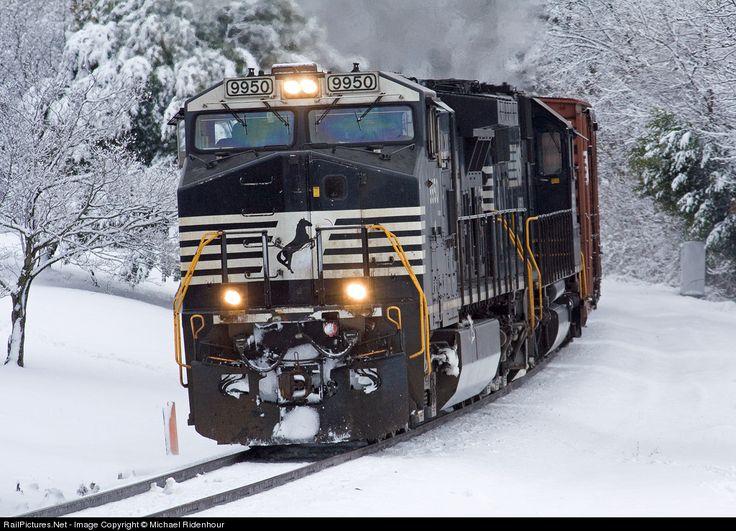 RailPictures.Net Photo: NS 9950 Norfolk Southern GE C40-9W (Dash 9-40CW) at Landis, North Carolina by Michael Ridenhour