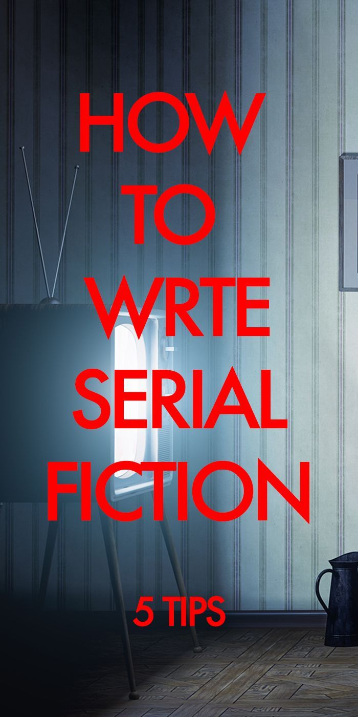 #amWriting You have more opportunities to tell serial stories than ever before. Grab them.