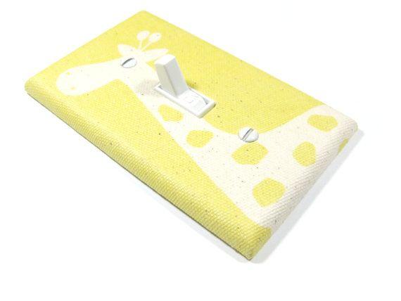 Natural Cream and Yellow Giraffe Nursery Decor by ModernSwitch, $10.00