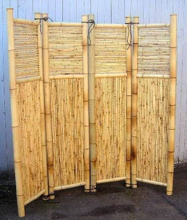 Bamboo for an outside shower home d cor pinterest Bamboo screens for outdoors