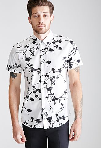 Branch Print Shirt | 21 MEN | #f21men