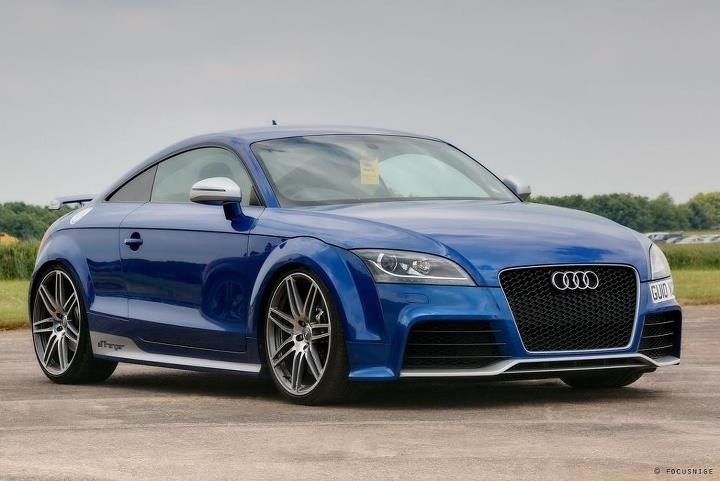 Nice Audi TTRS....and the right color