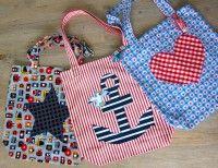 Omas Liebling, Einkaufstasche, Kreativ-FREEbook (von Farbenmix)