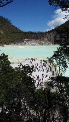 Kawah Putih Crater, Ciwidey, Bandung, Indonesia