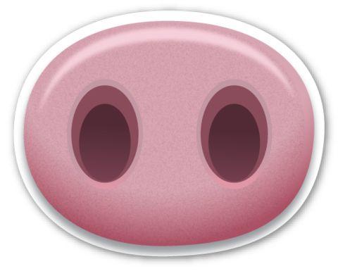 Pig Nose | EmojiStickers.com