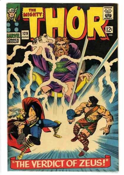 Hercules - Hammer - Jack Kirby